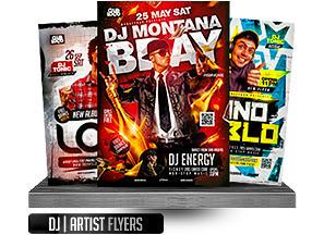 DJ Tour Dates Flyer Template - 8