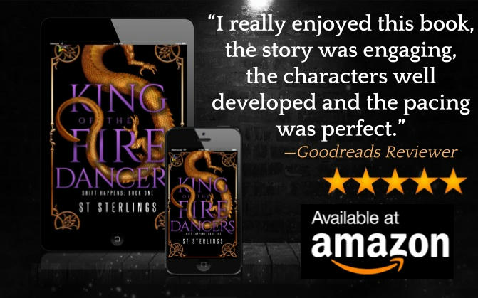 S.T. Sterlings - King of the Fire Dancers Graphic