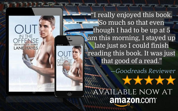 Lane Hayes - Out in College Series Audio Teaser
