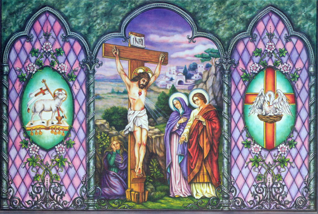 Madre de Jesus. Muerte de Jesus. La Crucifixion.