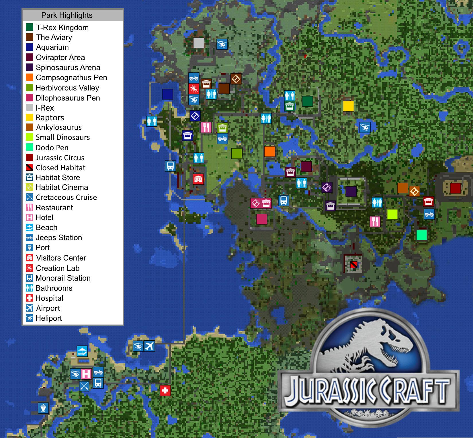 Jurassic Craft Add-On! Add Dinosaurs to your Minecraft PE
