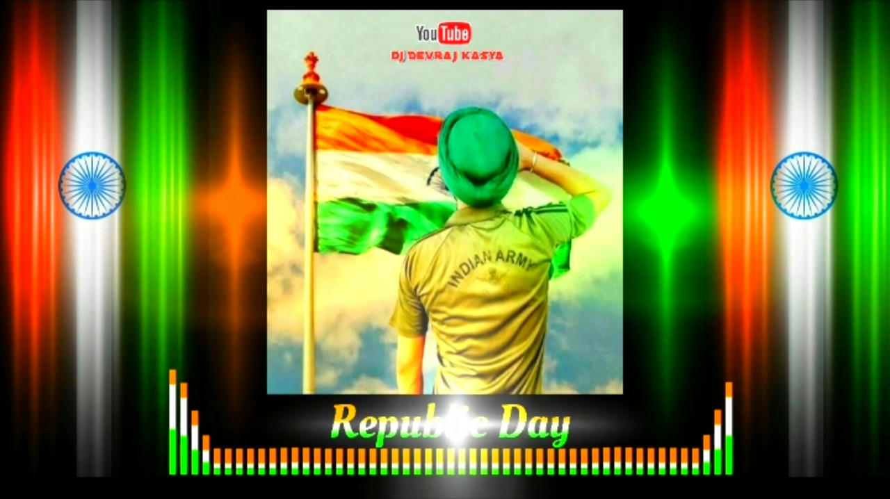 Republic day 26 January avee player template Download