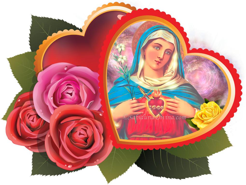 Virgen Santa Maria