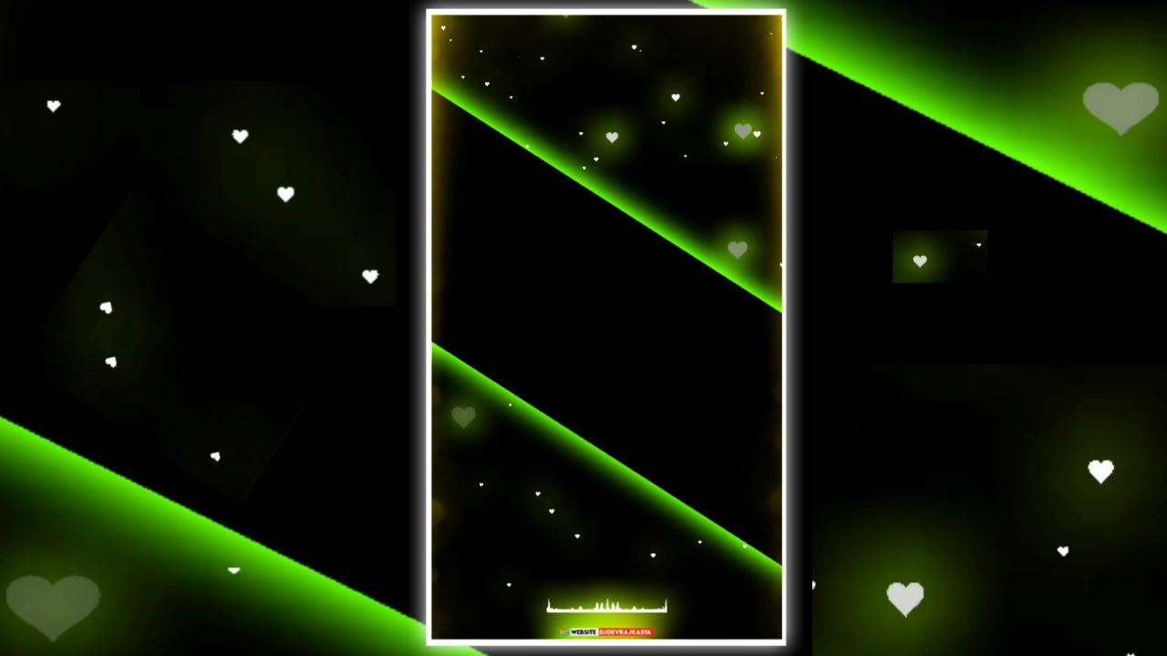 Lighting Green Full screen Watsapp  Template 2021