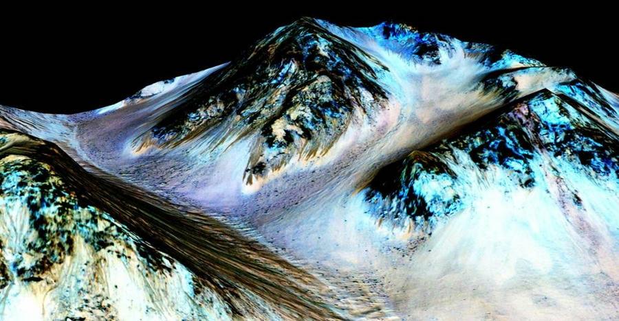 La-NASA-presentó-ayer-imágenes-que-evidenciarían-la-existencia-de-agua-líquida-en-Marte