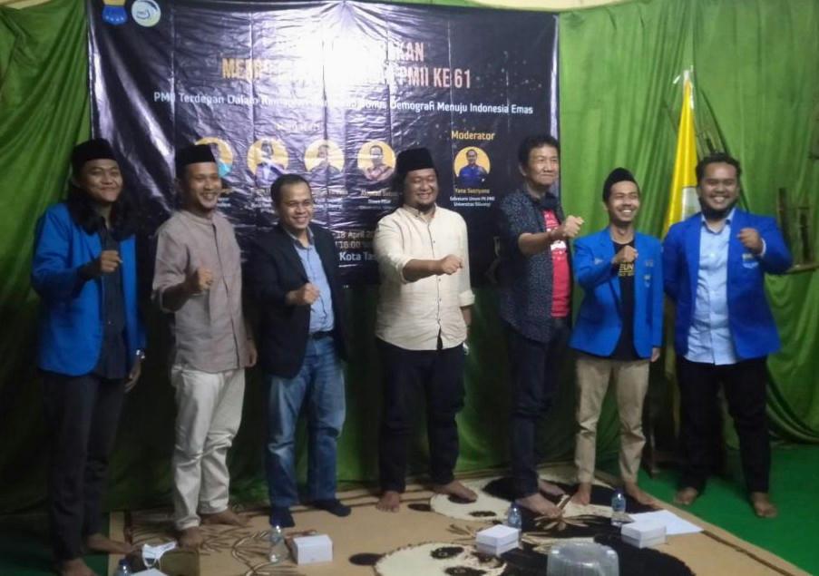 Ketua Ansor Kota Tasik, PMII Semakin Tambah Umur Juga Harus Tambah Cakap