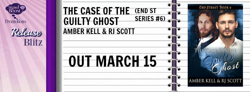 Amber Kell & R.J. Scott - The Case of the Guilty Ghost RB Banner