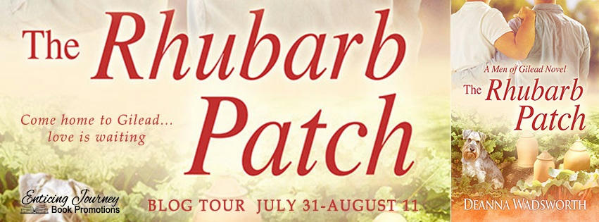 Deanna Wadsworth - Rhubarb Patch tour banner