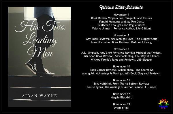 Aidan Wayne - His Two Leading Men SCHEDULE