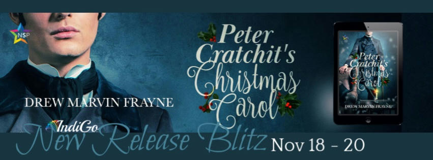 Drew Marvin Frayne - Peter Cratchit's Christmas Carol RB Banner