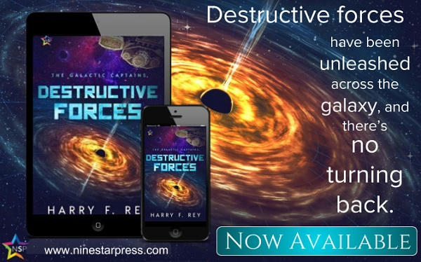 Harry F. Rey - Destructive Forces Now Available