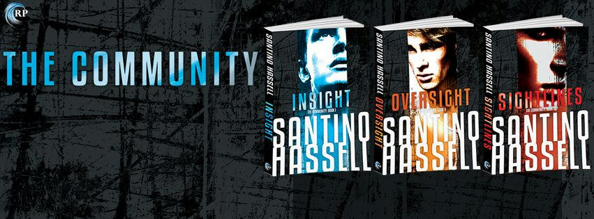 Santino Hassell - The Community series Banner