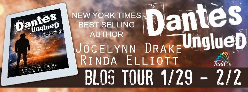 Jocelynn Drake & Rinda Elliott - Dantes Unglued Banner