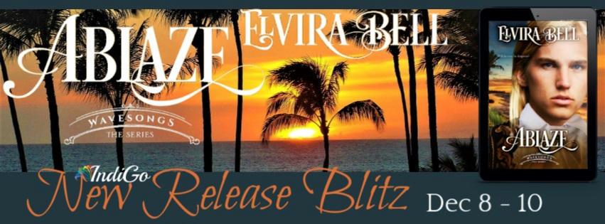 Elvira Bell - Ablaze Blitz Banner