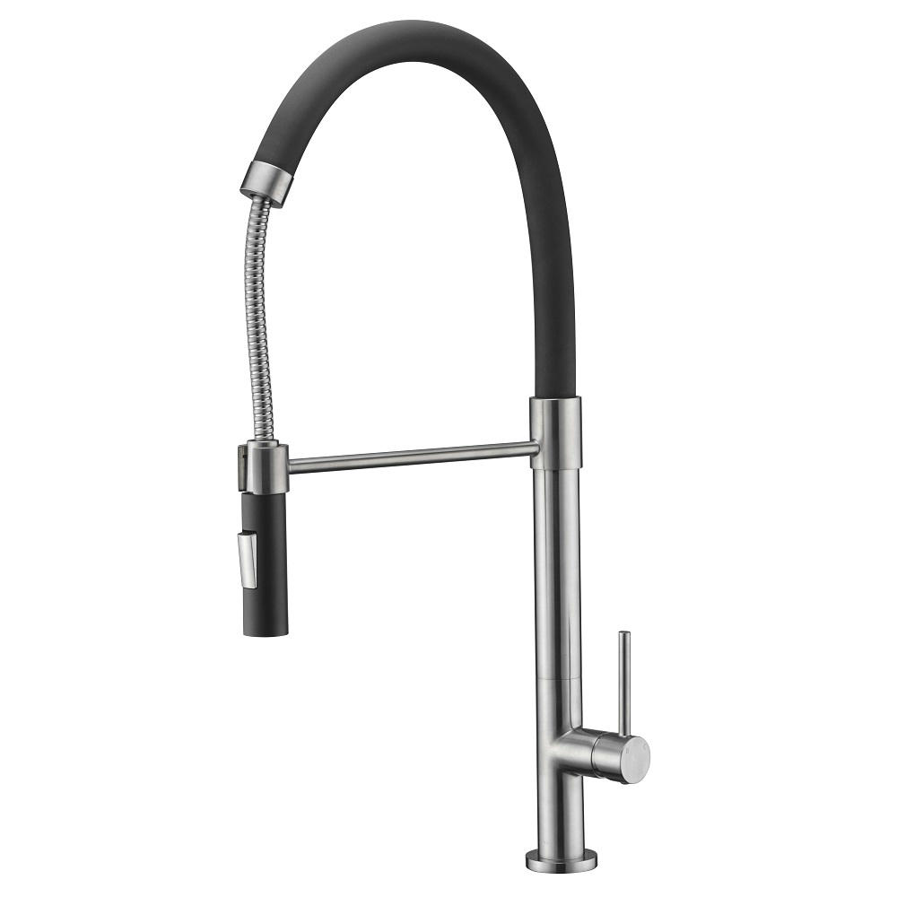 AB50 3732BN Kitchen Faucet, Brushed Nickel