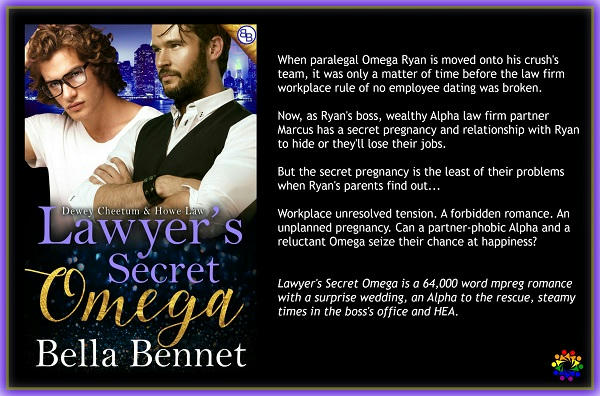 Bella Bennet - Lawyer's Secret Omega Banner promo
