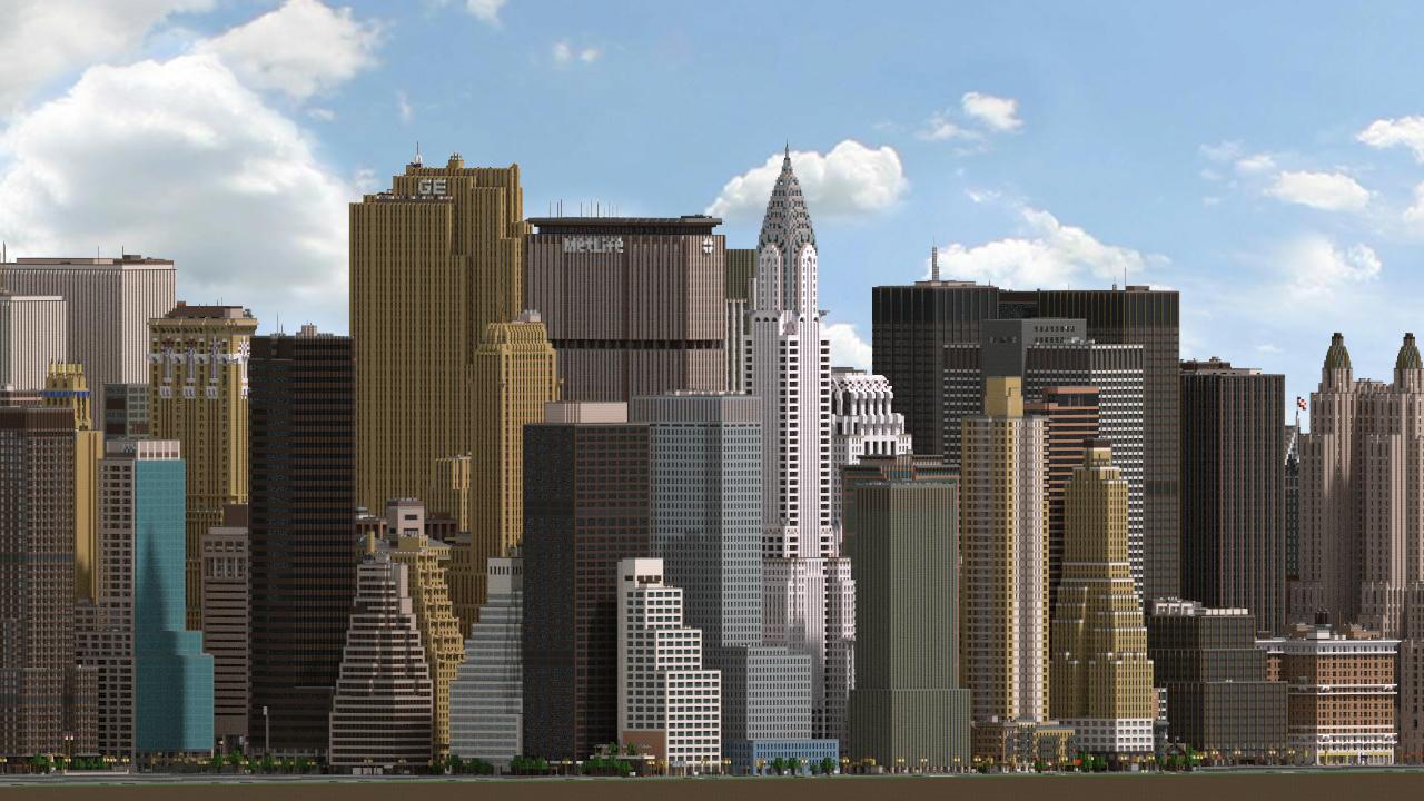 Midtown Manhattan, New York City (DOWNLOAD V8.8) Minecraft Map