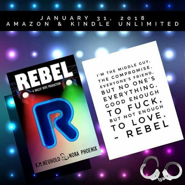 K.M. Neuhold & Nora Phoenix - Rebel Graphic 2