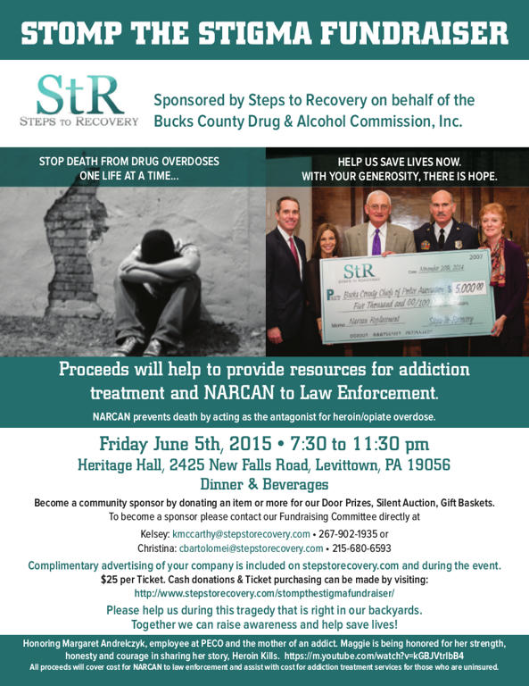 Stomp the Stigma: Drug treatment and Narcan in Philadelphia, PA