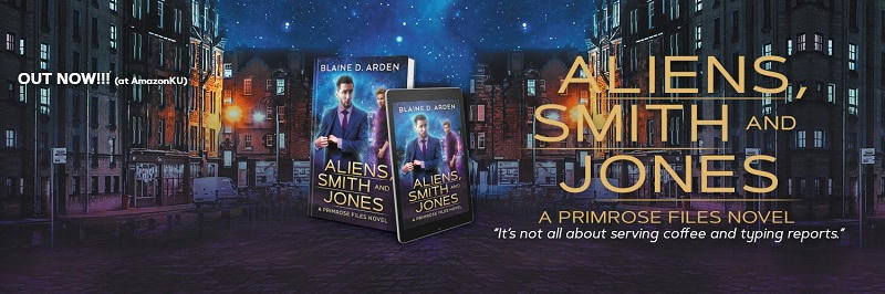 Blaine D. Arden - Aliens, Smith and Jones Banner