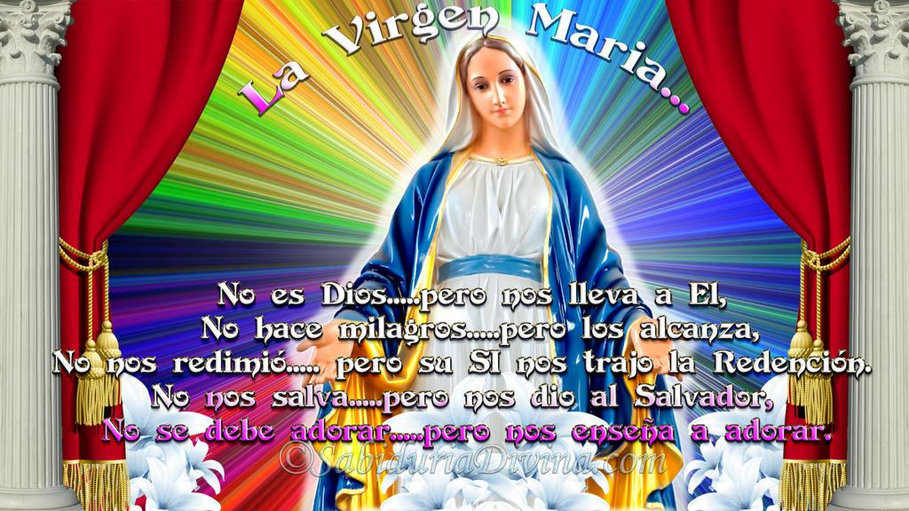 Madre de Dios. Virgen Maria hermosa