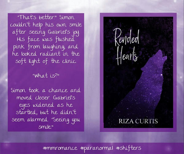 Riza Curtis - Rended Hearts Promo
