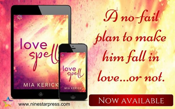 Mia Kerick - Love Spell Now Available