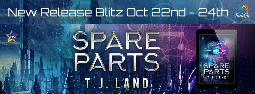 T.J. Land - Spare Parts RB Banner