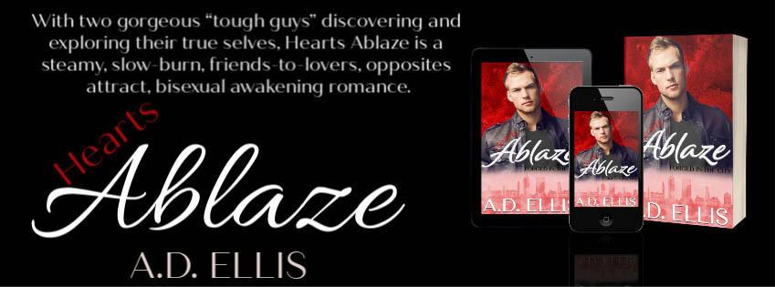 A.D. Ellis - Hearts Ablaze Banner1