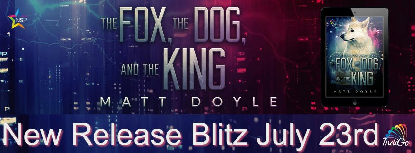 Matt Doyle - The Fox, the Dog, and the King RB Banner