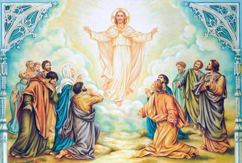 La Ascencion de Nuestro Señor Jesus Cristo al cielo