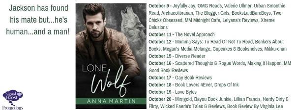 Anna Martin - Lone Wolf TourGraphic
