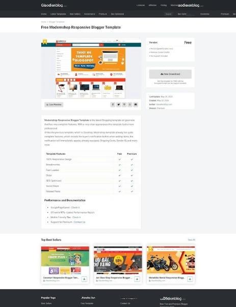 Templateify blogspot Premium template 2020