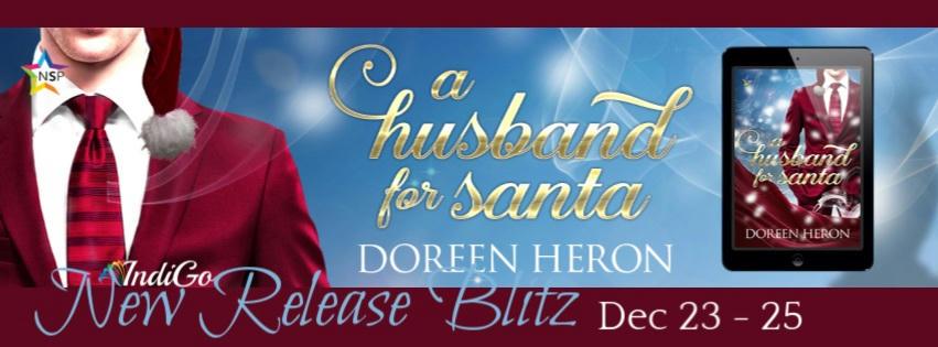 Doreen Heron - A Husband for Santa RB Banner