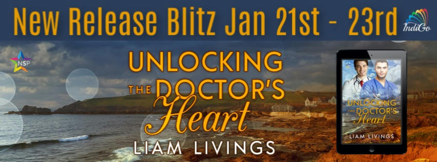 Liam Livings - Unlocking the Doctor's Heart RB Banner