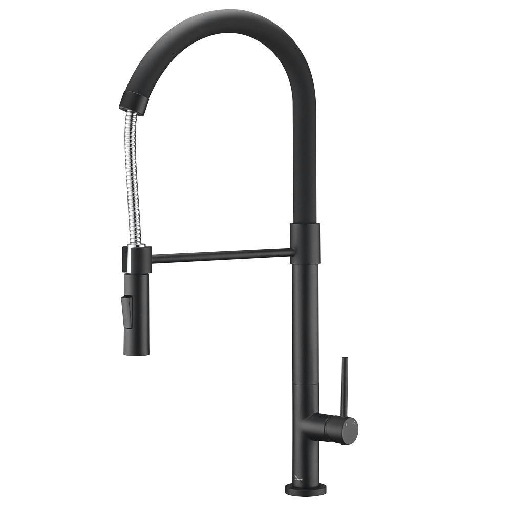 AB50 3732MB Kitchen Faucet, Matte Black