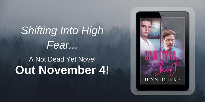 Jenn Burke - Graveyard Shift Release Blitz Graphic GS