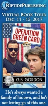 G.B. Gordon - Operation Green Card TourBadges