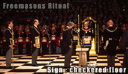 فراماسون ها . زمین شطرنجی . freemasons