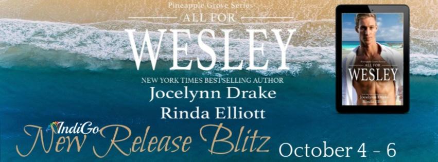 Jocelynn Drake & Rinda Elliott - All for Wesley Blitz Banner