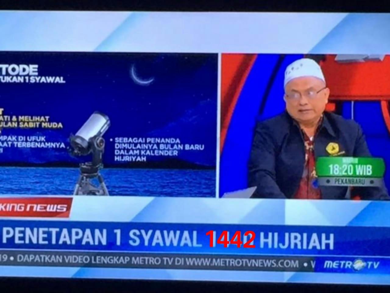 Hisab Manual Nautical Almanac, Idul Fitri 1442 H Jatuh Pada Kamis 13 Mei 2021