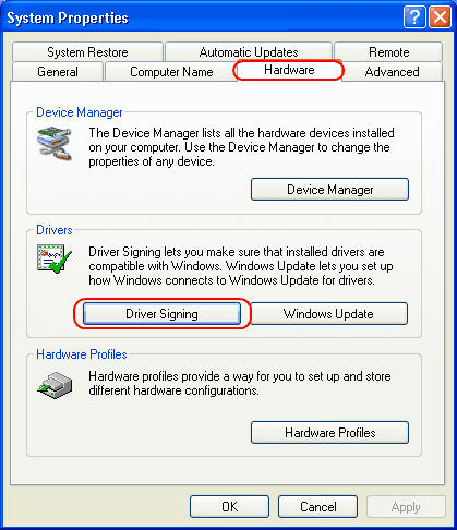 "Disable ""…has not passed Windows Logo testing"" Message"