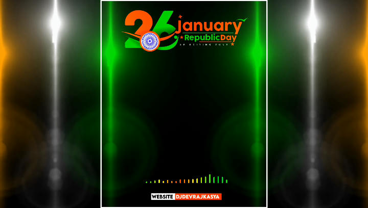 Lighting Republic Day Special Avee Player Template Download