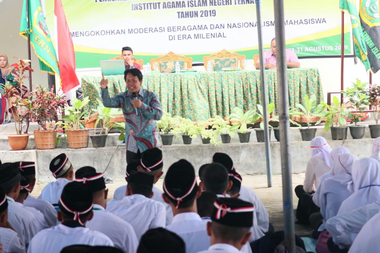 Mahasiswa Millineal IAIN Ternate Corong Moderasi Beragama