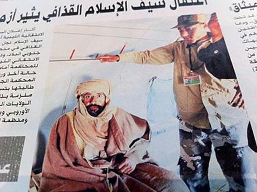 En libertad Saif Al-Islam, hijo y heredero político y militar de Gadaffi