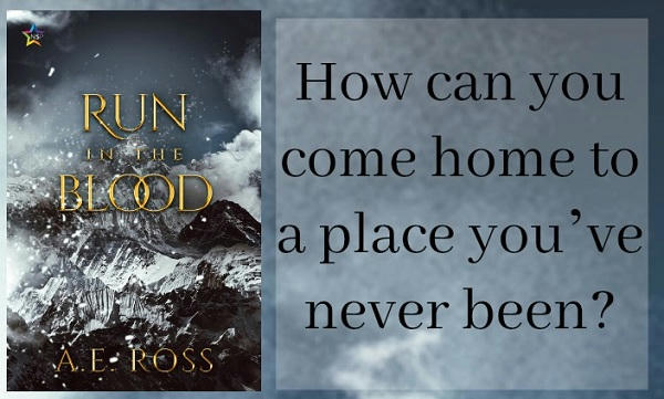 A.E. Ross - Run In The Blood Teaser Graphic s