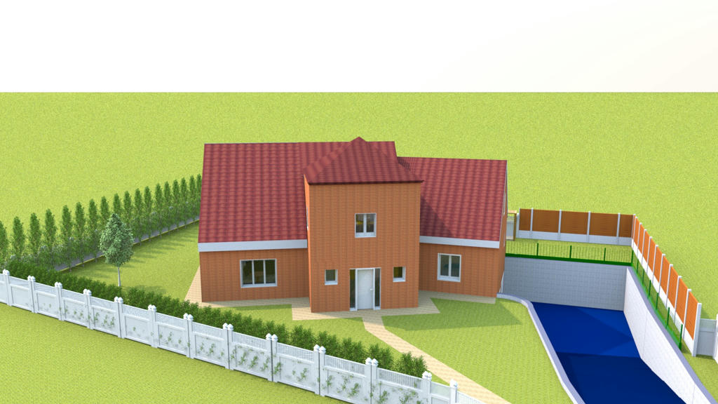 Sweet home 3d forum view thread reflets sur rendering for Exemple maison sweet home 3d