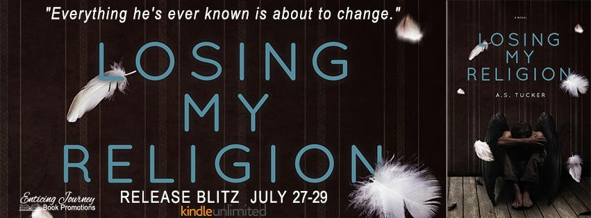 A.S. Tucker - Losing My Religion release Banner