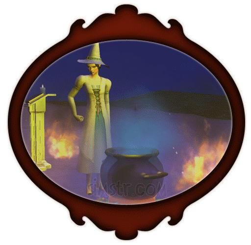 The Sims 2 Apartment Life Apartman Hayatı Gif Sihir Yapan Cadı Sim İksir Yapan Cadı