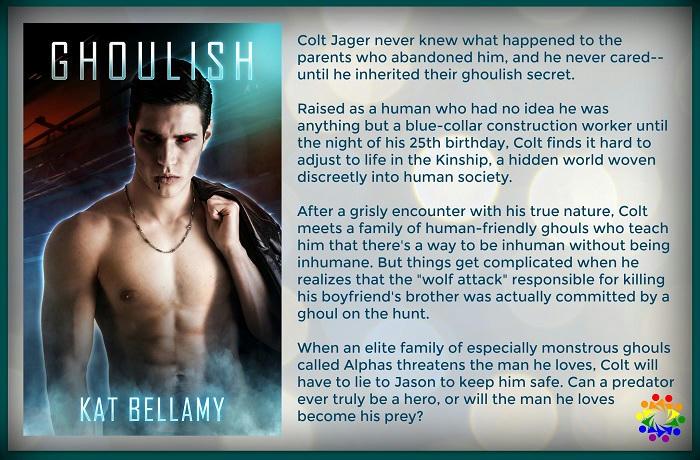 Kat Bellamy - Ghoulish Blurb